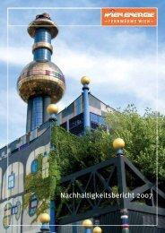 Nachhaltigkeitsbericht 2007 - Wiener Stadtwerke