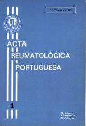 1973 Volume 1, 3º Trimestre - Acta Reumatológica Portuguesa ...