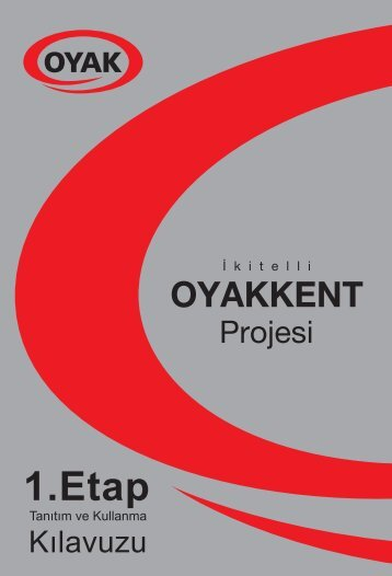 oyak kapak - Oyakkent 1. Etap Site Yönetimi