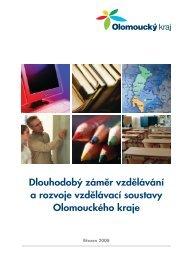 Dlouhodobý záměr vzdělávání a rozvoje vzdělávací soustavy ...