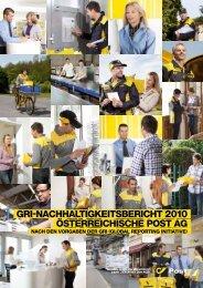 GRI-NACHHALTIGKEITSBERICHT 2010 ÖSTERREICHISCHE ...