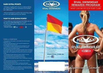 rival swimwear earn extra points rewards program - Running Bare