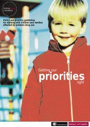 Getting Our Priorities Right - Scottish Government