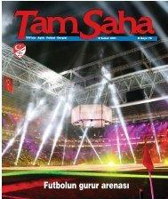 Futbolun gurur arenas› - Türkiye Futbol Federasyonu