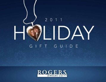 Download The Holiday Catalog (PDF) - Rogers Jewelry Co.