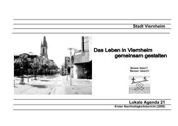 Stadt Viernheim Lokale Agenda 21 - Umwelt-Kompass