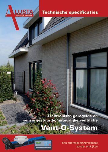 Technische documentatie Vent-o-system - Alusta