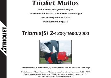 Trioliet Mullos - Agromix