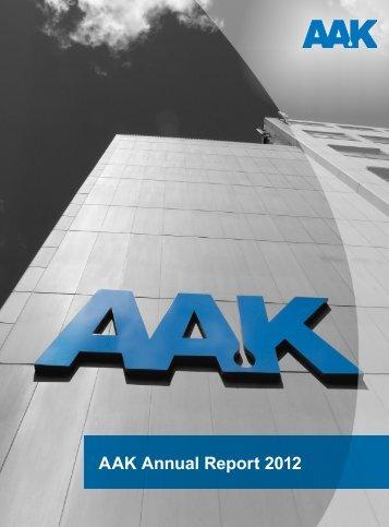 Download AAK Annual Report 2012