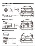 Installatiehandleiding Parkeersensoren - Bestelwagentechniek - Page 5