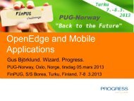 OpenEdge and Mobile Applications