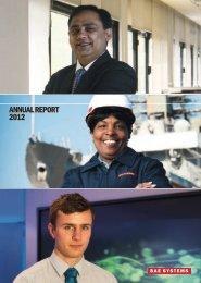 BAE Annual Report 2012 - Investors