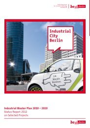 Industrial Master Plan 2010 – 2020 Status Report 2012 on Selected ...
