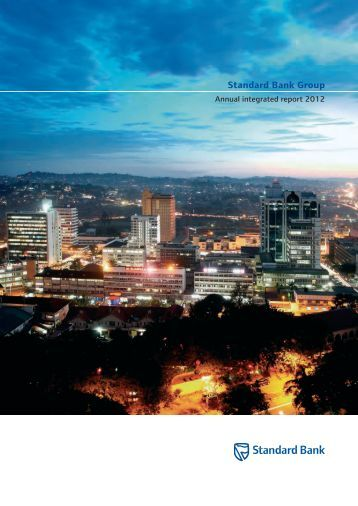 Standard Bank Group Annual integrated report 2012