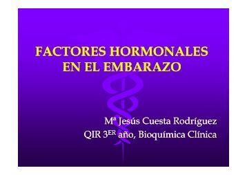 Factores hormonales en el embarazo y la lactancia.