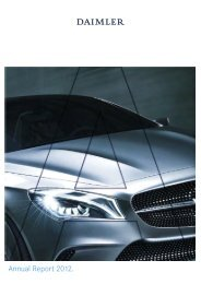 Daimler Annual Report 2012