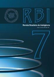 revista brasileira de inteligência nº 07 (pdf) - Abin