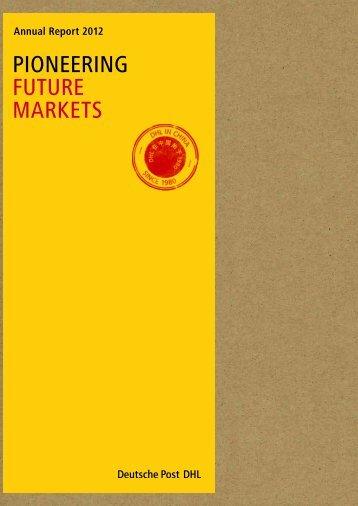 Annual Report 2012 pdf (5 MB) - Deutsche Post DHL