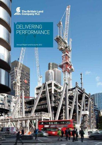 Annual Report 2012 PDF (8.08MB) - British Land
