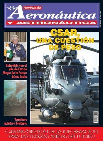 Revista Aeronáutica y Astronáutica de marzo de 2008 [6576.39, pdf]