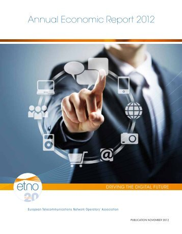 Annual Economic Report 2012 - ETNO