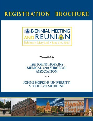 2013 Biennial brochure - Johns Hopkins Medical Institutions