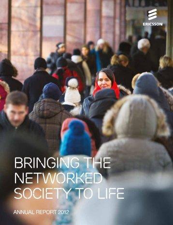 Ericsson Annual Report 2012