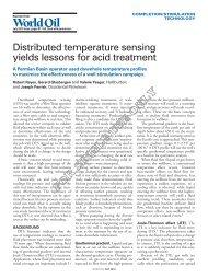 Fibre-optic distributed temperature sensing in combined