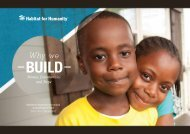 Annual Report - Habitat for Humanity International