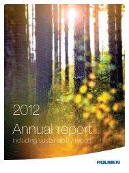 Annual report 2012 - Holmen