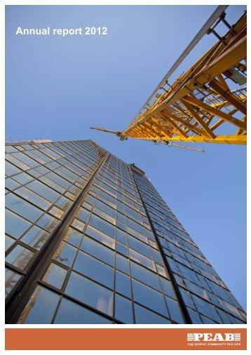 Annual report 2012 - Peab
