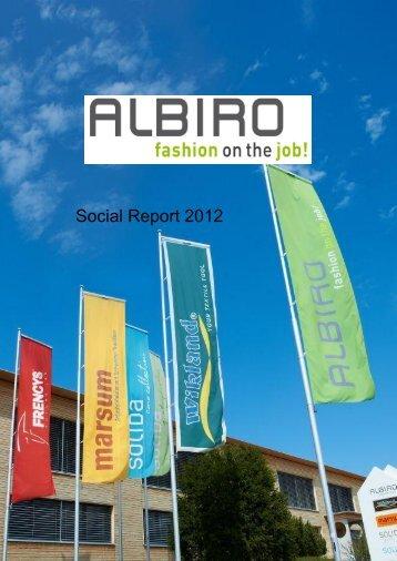 Social Report 2012 - Fair Wear Foundation