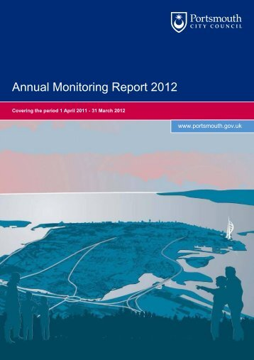 Annual Monitoring Report 2012 (1.47 MB) - Portsmouth City Council