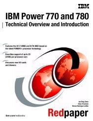 IBM Power 770 and 780 (9117-MMD, 9179-MHD ... - IBM Redbooks