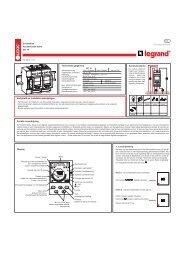 Display Technische gegevens Veiligheid en installatie ... - Rexel