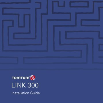 Installation du TomTom LINK 300 - Route Solutions, Inc.