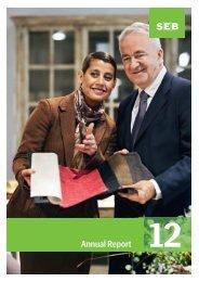 Annual Report 2012 - SEB