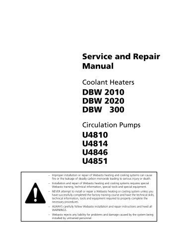 Webasto x100 service manual sprinter rv service and repair manual technical support website sciox Choice Image