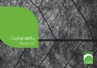 HUB Sustainability Report 2012 - PRME