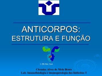 Estrutura e função dos anticorpos - Unirio