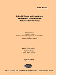 India-EU Trade and Investment Agreement: Environmental Services ...