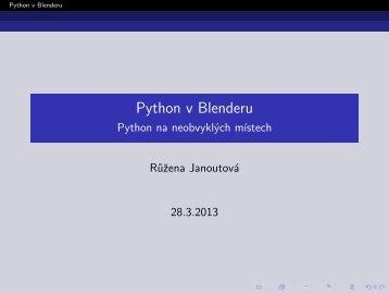 brno-2013-03-28-ruzena-janoutova-python-v-blenderu