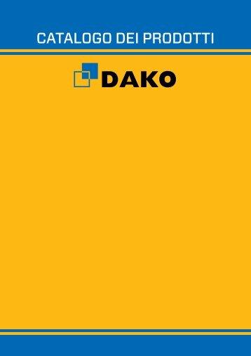 Catalogo dei prodotti - Dako