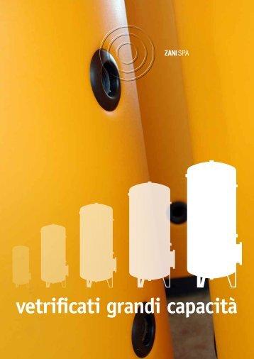 vetrificati grandi capacità - Edilportale
