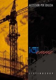 accessori per edilizia accessori per edilizia - IGIEMME