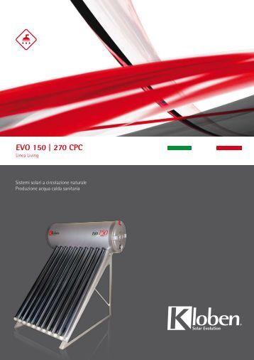 Pannello Solare Kloben Evo 150 : Totalenergy nrg pro kloben