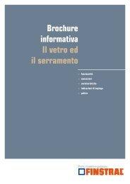 Brochure informativa Il vetro ed il serramento - Tedweb.it
