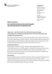 PDF, 91.9 KB - Liechtensteinische Landesbank