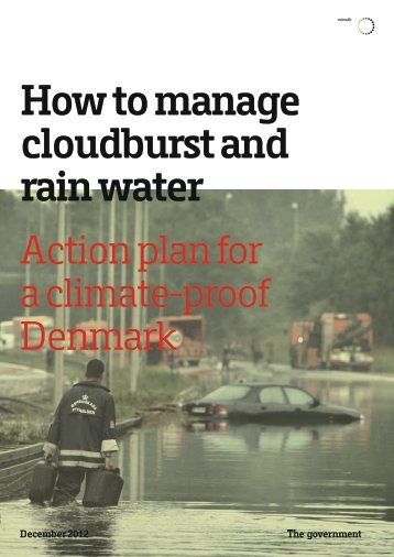 How to manage cloudburst and rain water