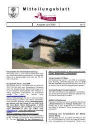 Mitteilungsblatt Nr. 06